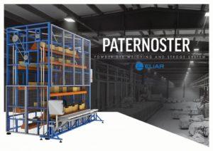 PATERNOSTER | Powder Dyestuff Weighing System